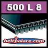 500L8 Poly-V Belt, L Section. Metric 8-PL1270 Motor Belt.