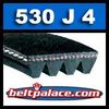 530J4 Poly-V Belt, Metric 4-PJ1346 Drive Belt.