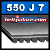 550J7 Poly-V Belt, Metric 7-PJ1397 Motor Belt.