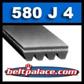 580J4 Poly-V Belt. Metric 4-PJ1473 Drive Belt.