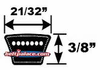 5L Light Duty V-Belts (FHP)  5L Sections - CLICK HERE!