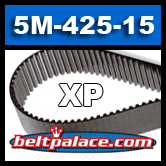5M-425-15-XP Synchro-Link Timing belt. Industrial Power, Go kart, Scooter belts. 425mm Length x 15mm Width. 85 Teeth.