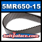 650-5MGT-15 GATES TIMING BELT. OLD# 5MR-650-15