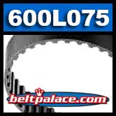 600L075 Timing Belt