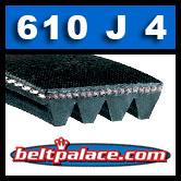 610J4 Poly-V Belt, Metric 4-PJ1549 Drive Belt.