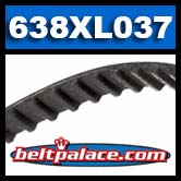 638XL037 BANDO Timing belt.