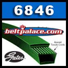 6846 POWERATED V-Belt. GATES