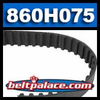 860H075 Timing belt. 860H-075-G Timing belt.