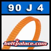 90J4 Poly-V Belt, Metric 4-PJ229 Drive Belt.