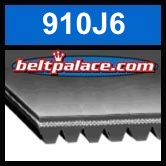 910J6 Poly-V Belt (Micro-V): Metric 6-PJ2311 Motor Belt.