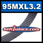 95MXL3.2G Timing belt. Industrial Grade 95MXL012.