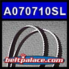 A070710SL Replaces 6BTM332 TIMING BELT. Replaces OEM GBC Part 173054. *Neoprene* (Rubber) Timing Belt 173054 for GBC Digicoil Binders.