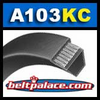 A103-KC Ultrapower V Belt. Kevlar Wrap A103 Industrial V-Belt.