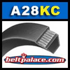 A28-KC Ultrapower V Belt. Kevlar Wrap A28 Industrial V-Belt.