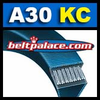 A30-KC Ultrapower V Belt. Kevlar A30 V-Belt.