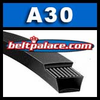 A30 Power King V Belt. Classical A30 Industrial V-Belt.
