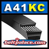 "A41KC Belt. UltraPower� AG V-Belt (Kevlar Covered). 1/2"" Wide, 42.9"" Length OC (1090mm)."