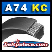 A74-KC Ultrapower V Belt. Kevlar A74 Industrial V-Belt.