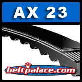 AX23 Molded Notch V-Belts: AX Series