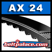 AX24 Molded Notch V-Belts: AX Series
