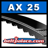 AX25 V-Belt, Molded Notch Power King Cog