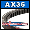 AX35 Cogged V-Belt. Classical AX35 Industrial V-Belt.