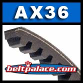 AX36 Power King Cog (TRI-POWER) V-BELT