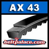 AX43 Molded Notch V-Belt