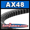 Classical AX48 Industrial V-Belt