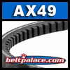 Classical AX49 Industrial V-Belt