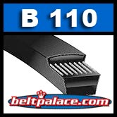 B110 POWER KING (BANDO) V-BELTS: B Section