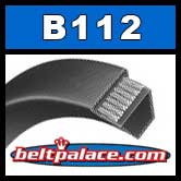 B112 Power King V Belt. Classical B112 Industrial V-Belt.