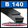 "B140 Industrial V-Belt (HI - POWER II) 143"" Length, 0.66"" Wide Power Ace V-BELT."