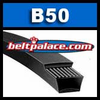 B50 Power King V-Belt. Classical B50 Industrial V-Belt.