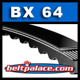 BX64 Power King Cog (Tri-Power) Molded Notch V-Belts