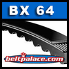 BX64 Molded Notch V-Belts