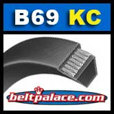 B69KC Ultrapower V Belt. Kevlar B69 Industrial V-Belt.