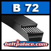 B72 V-BELTS: B Section