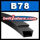 B78 POWER ACE V-BELTS: B Section