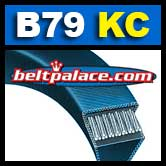 B79-KC Ultrapower V Belt. Kevlar B79 Industrial V-Belt.
