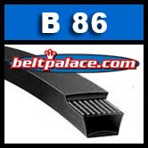 B86 Power King V Belt. Classical B86 Industrial V-Belt.