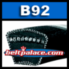 B92 Classcial V Belt. Heavy Duty V-Belt.