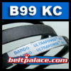 "B99KC -102"" L, 0.66"" W, Dixie Chopper 2006B99W, Gates 69102, Goodyear 891020, Dayco L5102"