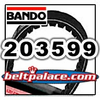 BANDO 203599 (A-DF), BANDO Hi-Performance belt for Comet 30 series. OEM Comet Industries Belt 994-130.