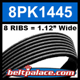 8PK1445 Automotive Serpentine (Micro-V) Belt