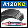A120-KC Ultrapower V-Belt. Kevlar Wrap A120 Industrial V-Belt.