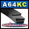 A64KC Belt. UltraPower AG� V-Belt (Covered).