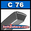 C76 POWER ACE V-BELTS: C Section