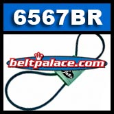 BladeRunner 6567BR. Gates Outdoor Power Replacement Belt