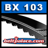 BX103 Molded Notch V-Belt. (Tri-Power/Bando King Cog)